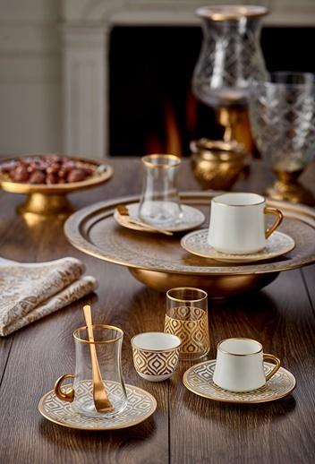 Koleksiyon Sufi Türk Kahvesi St 6'lı Ikat Altın-Koleksiyon